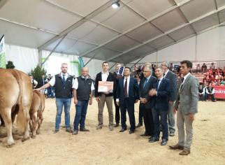 Remise de prix - Concours National Limousin Chateauroux 2018