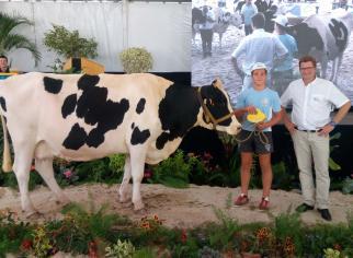 Remise prix de la meilleure laitière par X. Cros