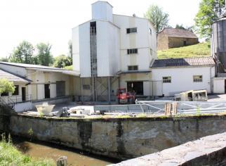 Usine Moulin Beynel 2 extérieur en travaux